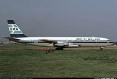 British Midland Airways - BMA G-BFLD Boeing 707-338C aircraft picture