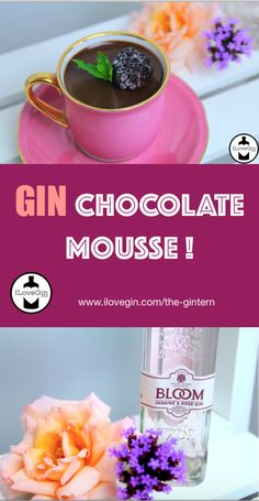 Another Gintern recipe: Easy Gin Chocolate Mousse 😍 Gin Recipes, Chocolate Mousse Recipe, Treats, Fruit, Cake, Food, Sweet Like Candy, Goodies, The Fruit