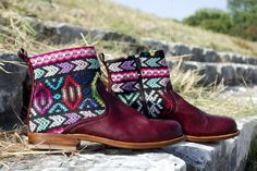 adventure guate boots, handmade in guatemala.