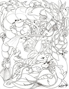 Piplup Coloring Pages