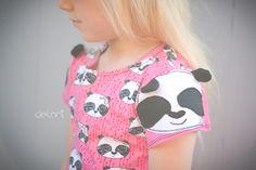 Panda - DIY - sweet - Girl - sewing - german