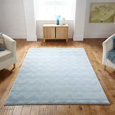 Louvre rugs in light blue buy online from the rug seller uk