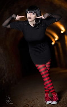 Cosplayer: Giada Robin. Country: Italy. Cosplay: Mavis from Hotel Transylvania. Photo by: Matteo Domizioli. https://m.facebook.com/GiadaRobin/