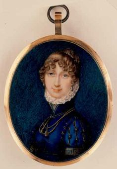 Mrs. Martha Udney    Charlotte Jones (1768-1847)  Date: 1802, Place Made: England, Materials & Techniques: Ivory painted in watercolour
