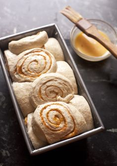 How to Make Pumpkin Brioche Bread