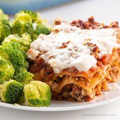 Colorful Vegan Vegetable Lasagna - Namely Marly
