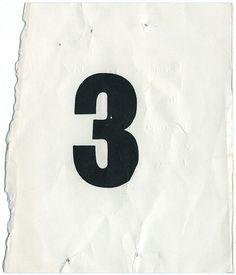 Number 3 #three