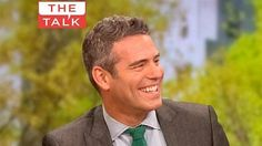 Andy Cohen guest on The Talk 5-16-13