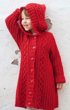 081986 12 barn 1 s by Rauma Ullvarefabrikk - issuu Baby Sweater Knitting Pattern, Knitting Machine Patterns, Knit Baby Sweaters, Knitted Poncho, Crochet Coat, Girls Sweaters, Crochet Baby, Knitting For Kids, Baby Knitting