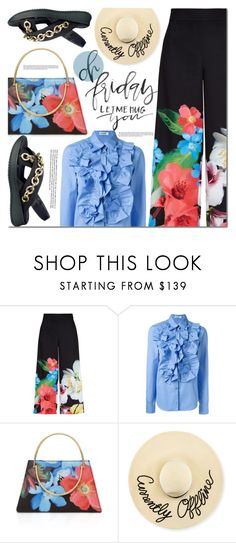 """Friday"" by barbarela11 ❤ liked on Polyvore featuring Ted Baker, Jil Sander and Eugenia Kim"
