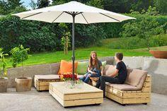 Havemøbler: Byg en flot lounge i lærk   Gør Det Selv