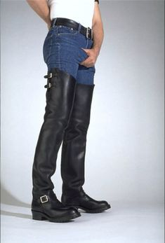 Leather | Boots | Chaps