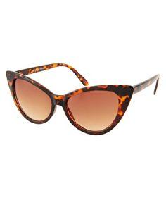 Bild 1 von Jeepers Peepers – Leia – Sonnenbrille mit Schildpatt-Gestell