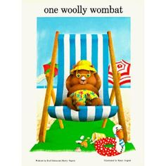 Australian Picture Books: One Woolly Wombat Book Review