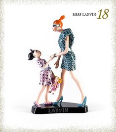 Best-dressed Miss Lanvin dolls. They are like fancy barbies for wealthy grown-ups Barbie, Fashion Dolls, Childhood Memories, Love Fashion, Nice Dresses, Art Pieces, Fancy, Disney Princess