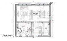 Realisatie | Thuis Best woningbouw |BEN woning Klassiek type B - verdieping. Eigen woning bouwen? www.thuisbest.be