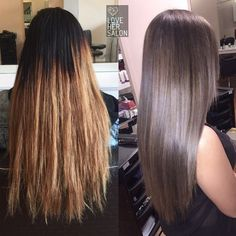 love her salon: We love it when our client lets us freestyle and create a custom colour for their makeover ✌️ if you're going to spend hrs here. Might as well score a signature look! Check out this Ash Silver Colour Melt . Ash Hair, Brown Blonde Hair, Light Brown Hair, Brunette Hair, Medium Ash Brown Hair, Honey Hair, Hair Color And Cut, Cool Hair Color, Brown Hair Colors