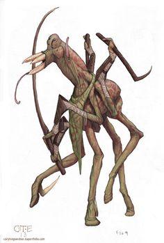 Alien duelist. http://corytregoerdner.daportfolio.com/