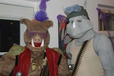 Bebob and Rocksteady Costume