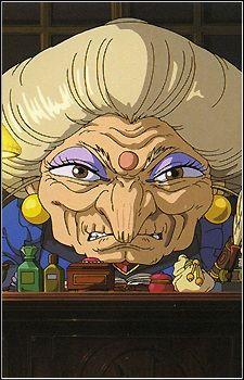 Yubaba (Spirited away) witch like Yama Uba