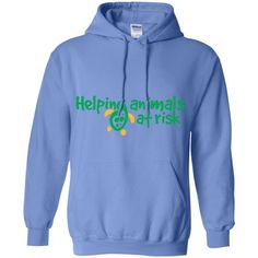 """""""Helping Animals At Risk"""" Hoodie"""