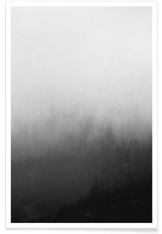 Landscape No. 31 as Premium Poster by typealive | JUNIQE