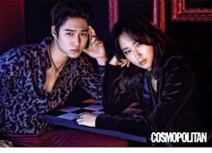 Go Kyung Pyo and Ryu Hye Young - Cosmopolitan Magazine September Issue '15