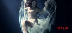 Chinese actress TaoHong+ BAZAAR + ZHANG JINGJING Couture. Underwater art photography Underwater Art, Chinese Actress, Art Photography, Celebrity, Actresses, Couture, Artistic Photography, Female Actresses, Fine Art Photography