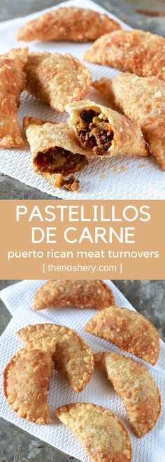 Pastelillos de Carne (Puerto Rican Meat Turnovers) | The Noshery