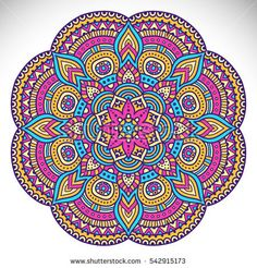 Find Flower Mandala Vintage Decorative Elements Oriental stock images in HD and millions of other royalty-free stock photos, illustrations and vectors in the Shutterstock collection. Mandala Art, Indian Mandala, Mandala Drawing, Mandala Painting, Flower Mandala, Mandala Pattern, Mandala Design, Mandala Colour, Ornament Pattern