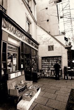 Autour du livre ... Shakespeare and Co - Paris
