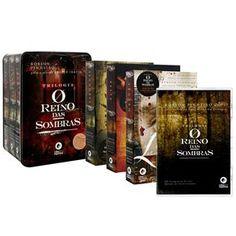 Livro - O Reino das Sombras - 3 Volumes com CD-Áudio - Espiritismo no Extra.com.br