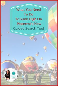 How to rank high on Pinterest's New Guided Search Tool - With this new search feature your Pinterest pin descriptions are more important than ever before.