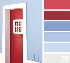 { a door hues } - https://www.design-seeds.com/seasons/summer/a-door-hues-38