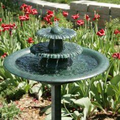 birdbath outdoor fountain bird bath
