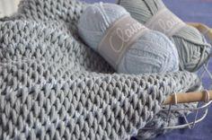 Tunisch gehaakte sjaal, met een 'sparkle'….