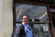 Another unusual dish I found in several places was Hot and Jellies Eels.  Yes eels.  Fear Factor style dining in London!