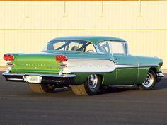 1958 Pontiac Chieftain Special, slightly modified....