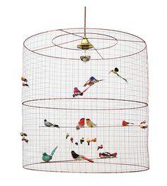 La Volière Two-Tier Pendant Light - Ceiling & Pendant Lights - Lighting - The Conran Shop UK