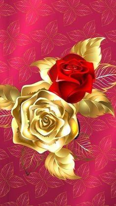 Best New Iphone Rose Gold Flower Background Rose Flower Wallpaper, Flower Backgrounds, Pink Wallpaper, Wallpaper Backgrounds, Gold Flowers, Vintage Flowers, Cellphone Wallpaper, Iphone Wallpaper, Rose Art