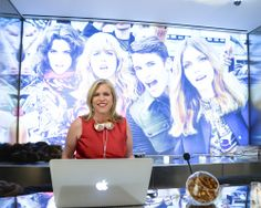 DJ Mad Marge (Marjorie Gubelmann) at the opening of the new Just Cavalli flagship store. Photo by BFAnyc.com.