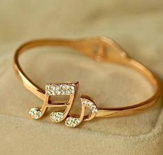 Music note ring. Love!                                                                                                                                                                                 More #weddingring #rings #ringswomen #ringsfemale