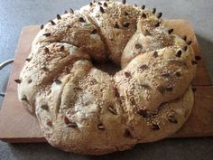 FORNELLI IN FIAMME: HOMEMADE WHOLE SPELT BREAD WITH PUMPKIN SEEDS AND...