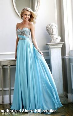 Prom Dresses 2014 - Sherri Hill 3914 Long Chiffon