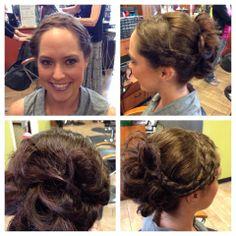 Bridal hair & Makeup by Sharon at Massageworks http://www.massageworksdayspa.com/