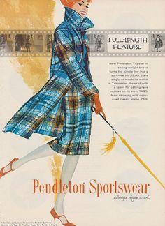 Pendleton Sportswear ad.