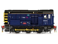 The Hornby FGW 0-6-0 Class 08 Shunter is part of the Diesel/Electric Locomotive range and accurately recreates the real life locomotive with stunning details.