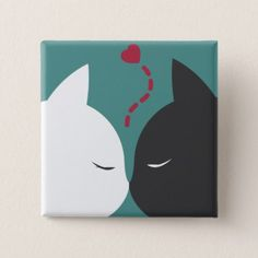 Simple Romantic Cats In Love Pin Button - romantic gifts ideas love beautiful Small Canvas Paintings, Easy Canvas Art, Small Canvas Art, Easy Canvas Painting, Mini Canvas Art, Cute Paintings, Simple Acrylic Paintings, Canvas Painting Designs, Disney Canvas Art