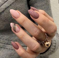 Cute Acrylic Nails, Acrylic Nail Designs, Cute Nails, Pretty Nails, Easy Nail Art Designs, Almond Acrylic Nails, Classy Nails, Stylish Nails, Bling Nails