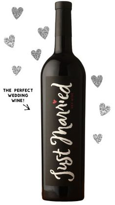 If anybody wants to buy me this... I won't object. :)  - Swanson Vineyards Just Married Wedding Wines
